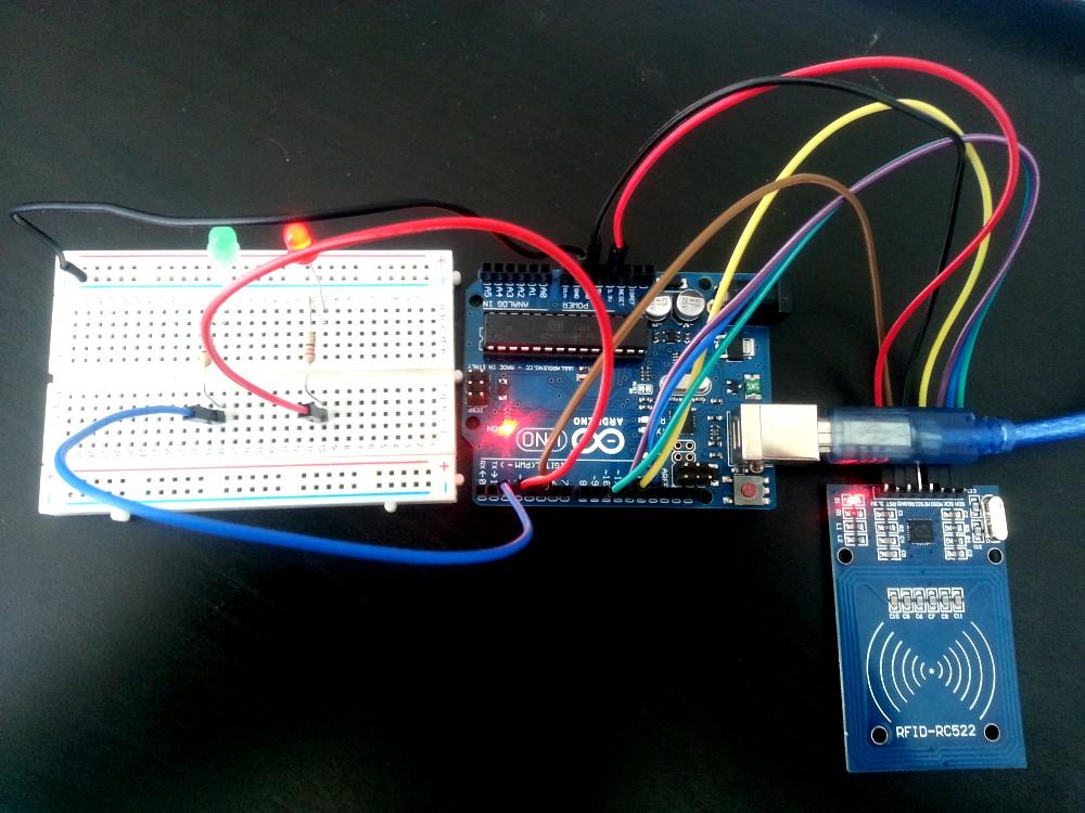 Control de acceso con arduino y rfid
