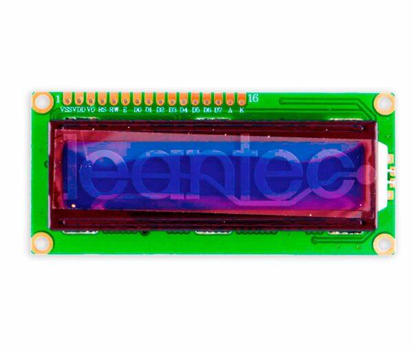 Pantalla LCD 16x2.