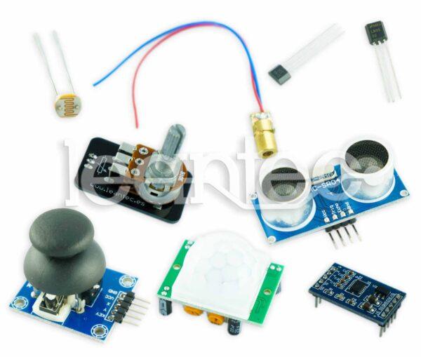 Kit Sensor Básico. Ideal para Arduino