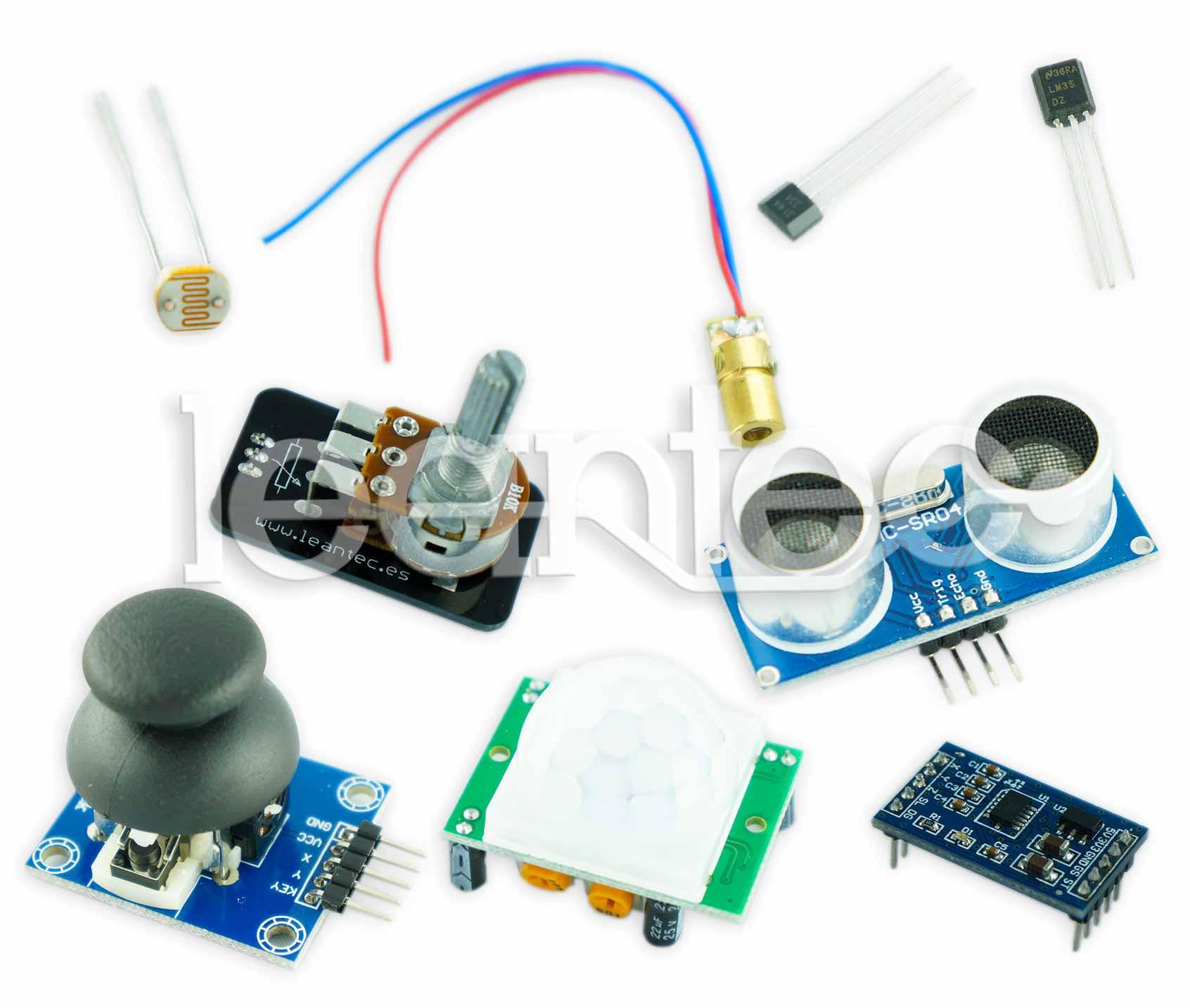 Kit Sensor Básico + Arduino Clon