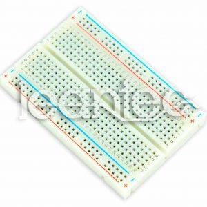 Protoboard, placa de prototipos de 400 contactos.