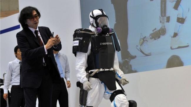 Robot contra el Ébola