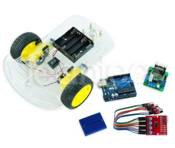 Kit Robot esquiva objetos IR