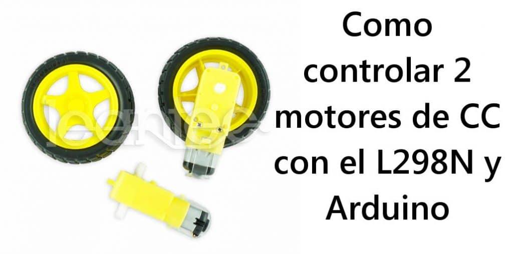 Motores CC con Arduino
