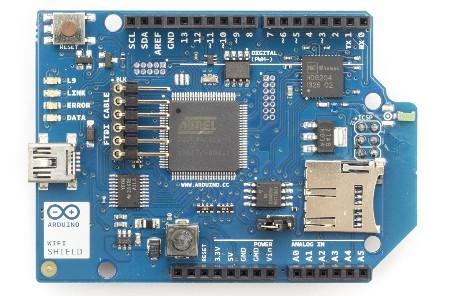 Arduino WIFI Shield con antena