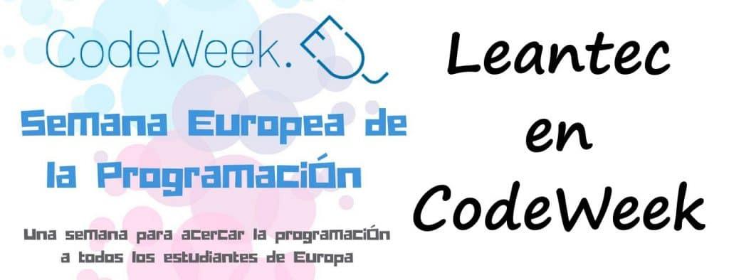Leantec en CodeWeek