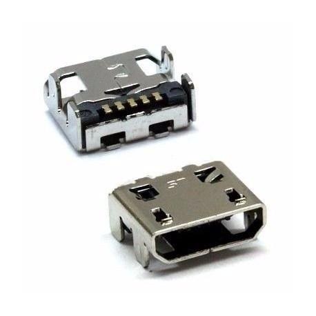 Conector USB Micro B Hembra SMD