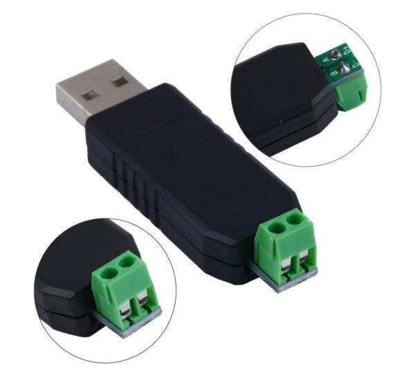 Conversor USB A RS485 USB a 485 Max485 Plc