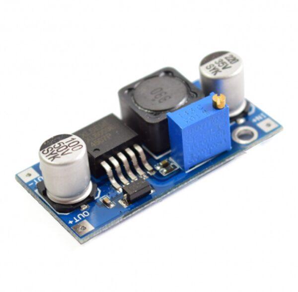 Convertidor DC Alimentador Regulable XL6009 STEPUP hasta 35V Arduino