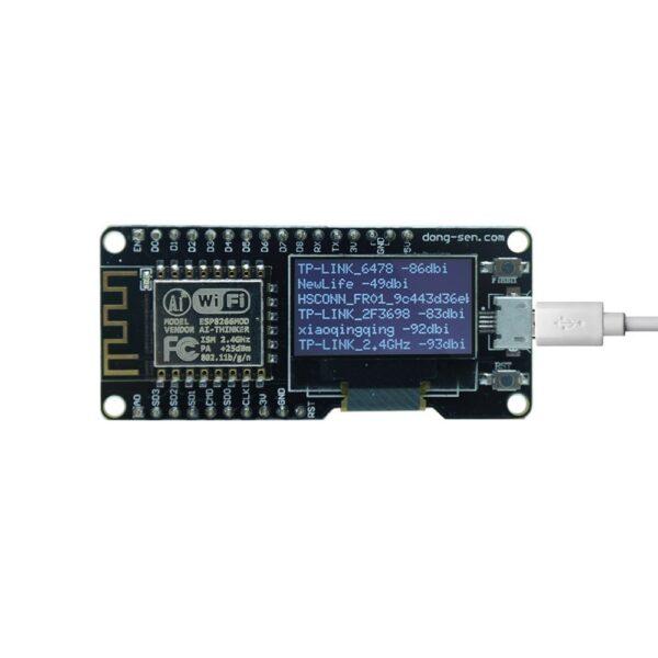 """D-Duino-v3 esp8266 esp12f 0.96"""" oled display modulo WiFi IOT Arduino nodemcu"""