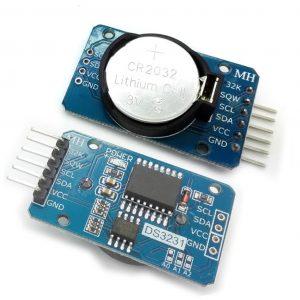 Modulo Arduino reloj de precision DS3231 CON PILA AT24C32 IIC