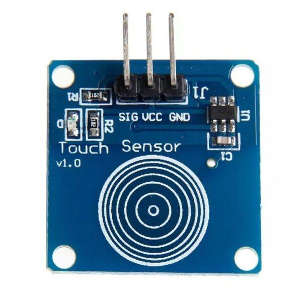 Modulo TTP223B sensor capacitivo tactil interruptor arduino
