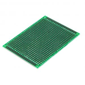 Placa prototipos doble cara 6x8cm - FIBRA DE VIDRIO