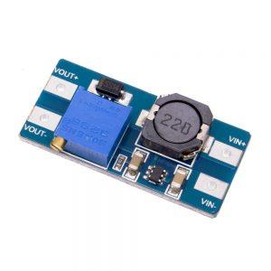 Regulador Elevador de VOLTAJE MT3608, ajustable ENTRADA 2 VCC A 24 VCC 3608