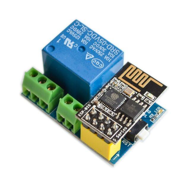 Rele con Modulo Wifi ESP8266 5V Remoto Domotica Arduino Raspberry IOT