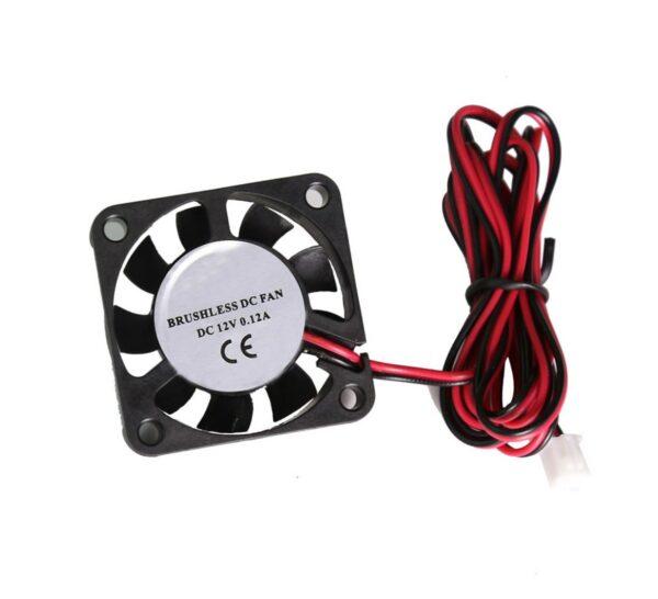 Ventilador 4010 12V 2 cables Reprap Impresora 3D Prusa FAN 40x 40x 10mm