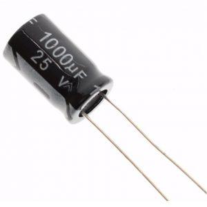 Condensador electrolitico 1000uF 25V
