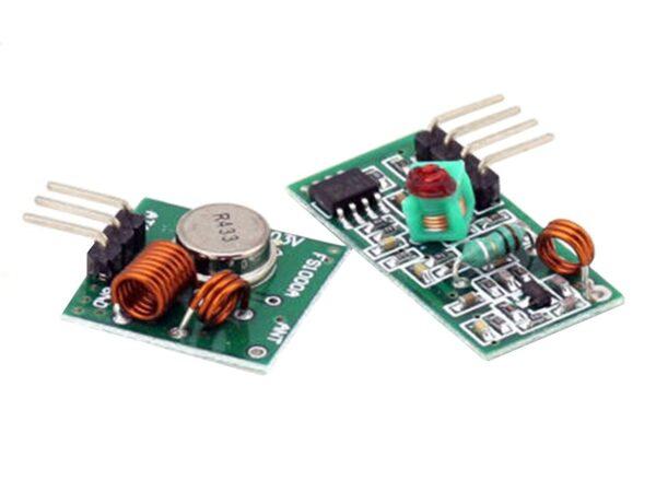 Rf modulo transmisor y receptor inalambrico 433 MHZ