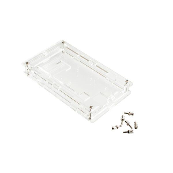 Caja Arduino Mega 2560 carcasa acrilica transparente