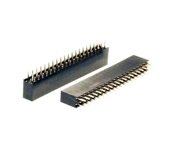 GPIO 40 PIN 2X20 PIN HEMBRA FEMALE STRIP 2.54mm Electronica Arduino