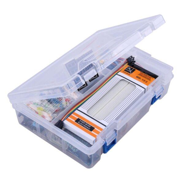 Kit Arduino R3 XXL Avanzado Teclado Sensores temperatura ultrasonidos LCD RFID