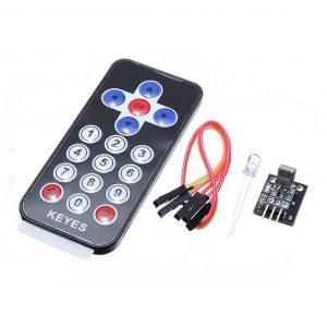 Kit Modulo infrarrojo IR + Mando distancia control remoto