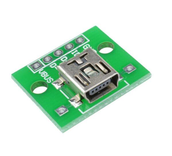 Modulo Adaptador mini usb a DIP Arduino