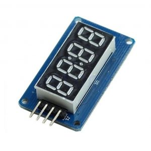 Modulo Display Digital TM1637 4 digitos LED reloj Arduino Raspberry Pi