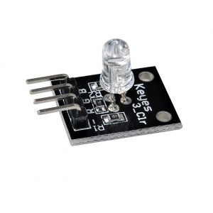 Modulo led RGB 5mm tricolor Arduino electronica catodo comun KY-016