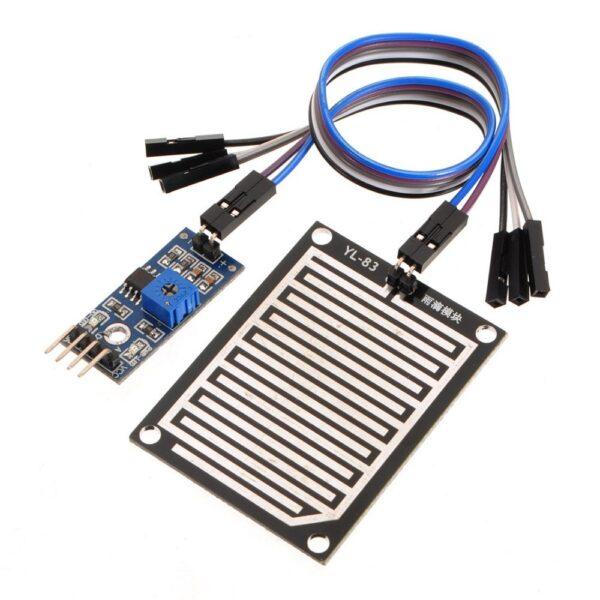 Modulo Sensor lluvia detector de gotas agua Pic Arduino FC-37 YL-83