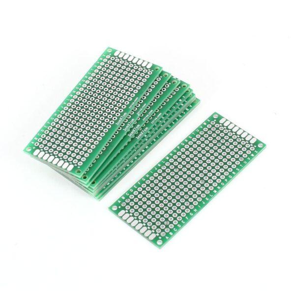 Placa prototipo doble cara 3x7cm PCB FIBRA VIDRIO