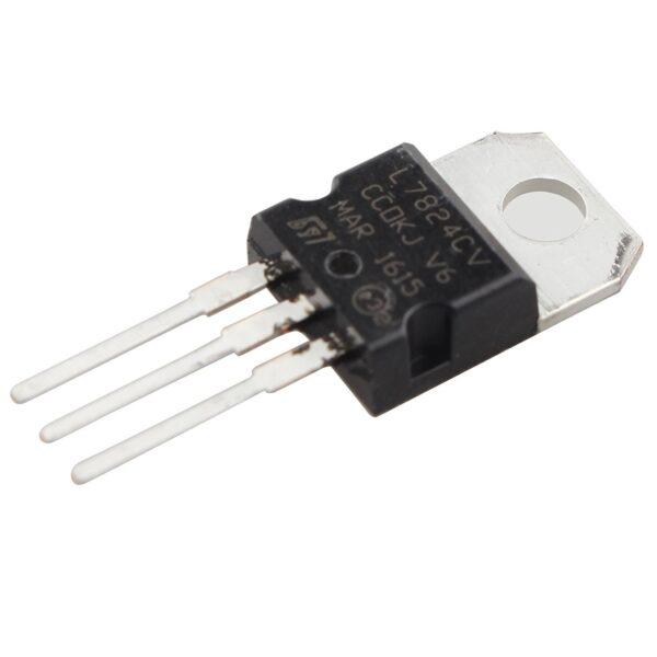 Regulador tension L7824CV LM7824 7824 24V 1.5A TO-220