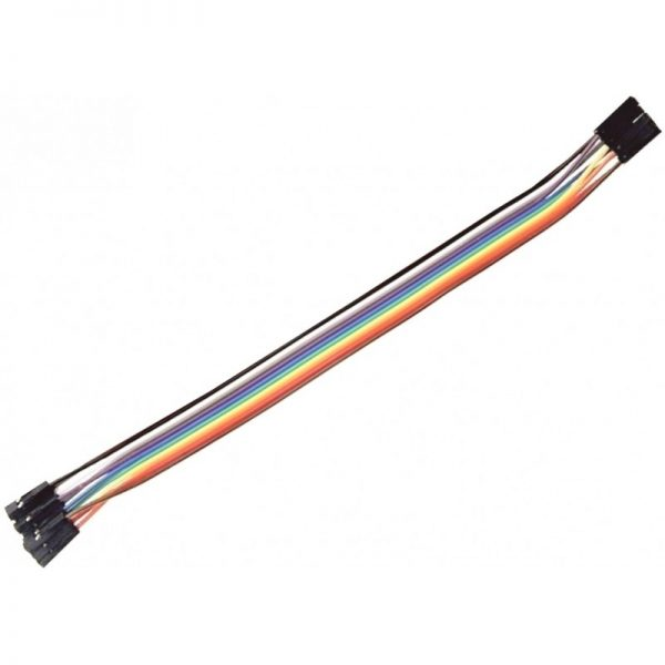 10 CABLE JUMPER DUPONT protoboard HEMBRA - HEMBRA arduino cables wire