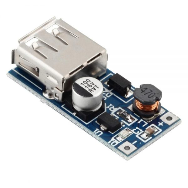 Boost Convertidor DC-DC 0.9V-5V a 5V 600mA USB Step up Modulo Alimentacion