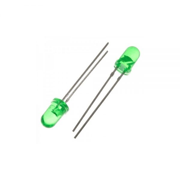 KIT 100 DIODOS LEDS 5MM VERDE BLANCO ROJO AZUL AMARILLO