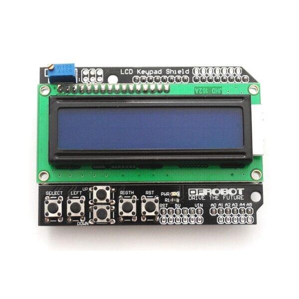 LCD 1602 teclado Azul Pantalla 16x2 Arduino Retroiluminado