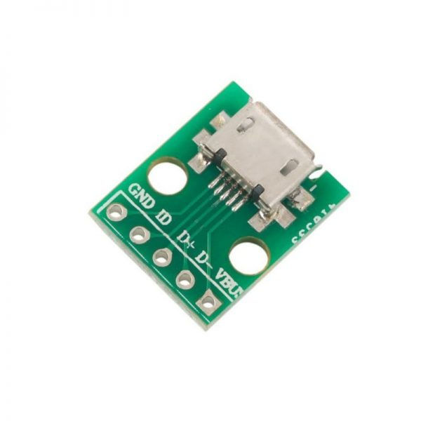 Modulo Adaptador microUSB a DIP Arduino
