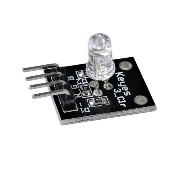 Modulo led RGB 5mm tricolor Arduino electronica catodo comun KY-016