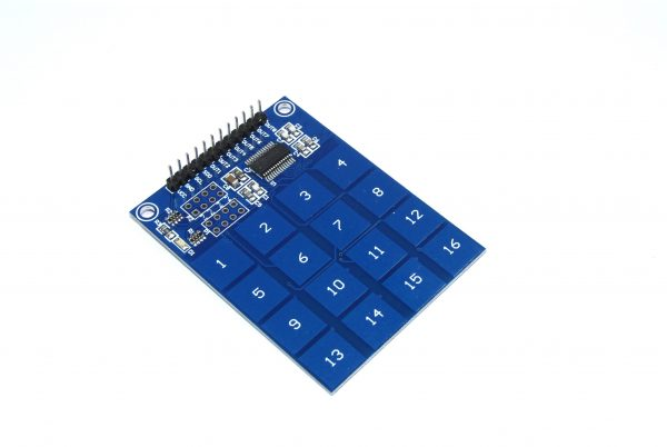 Modulo TTP229 16 canales sensor capacitivo digital tactil arduino