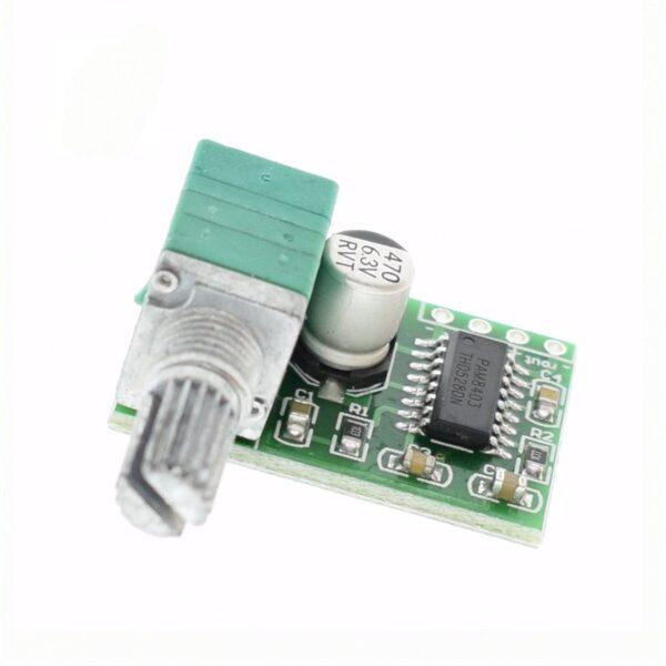 PAM8403 2X3W POTENCIOMETRO Dual Channel Audio Stereo