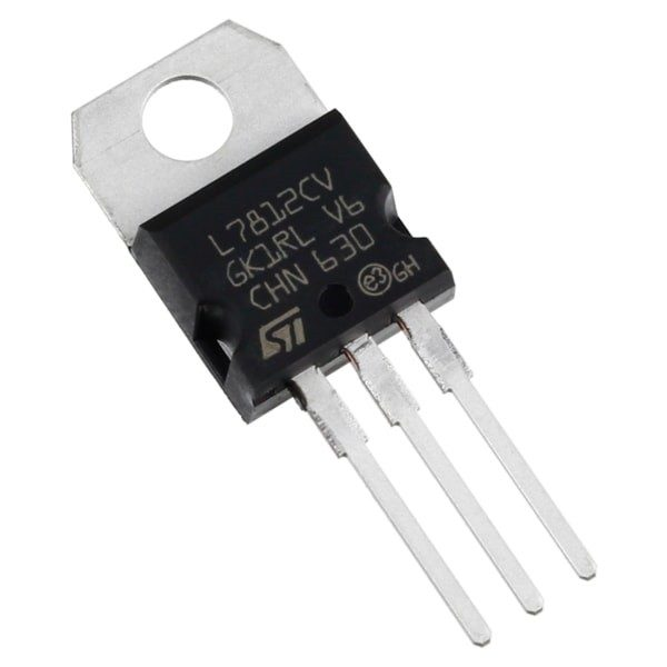 Regulador tension L7812CV LM7812 7812 12V 1.5A TO-220