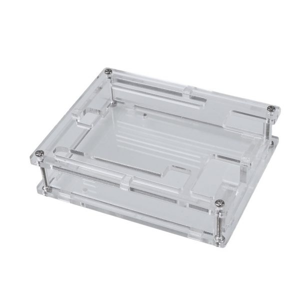 Caja Arduino Uno R3 carcasa acrilica transparente