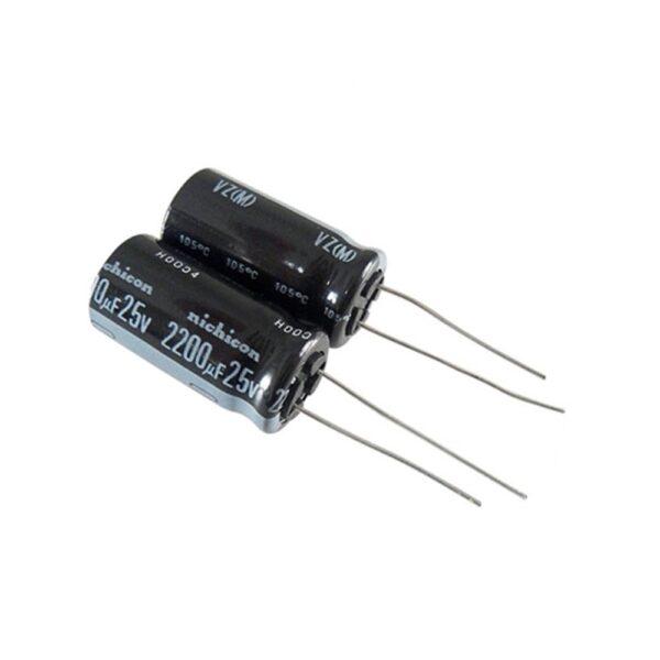 Condensador electrolitico 2200uF 10V