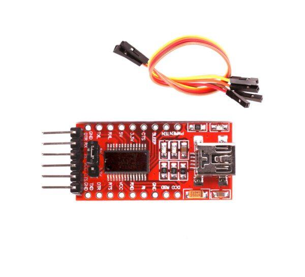 FT232RL FTDI USB a TTL Conversor Serie 3.3-5V Arduino Pro Mini + Cable