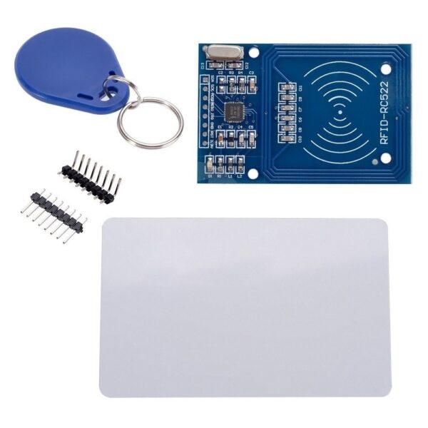 MODULO RFID + LLAVERO TAG TARJETA 13.56 Mhz SENSOR ARDUINO RC522