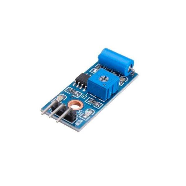 Modulo sensor vibracion SW-420 contacto cerrado detector alarma interruptor