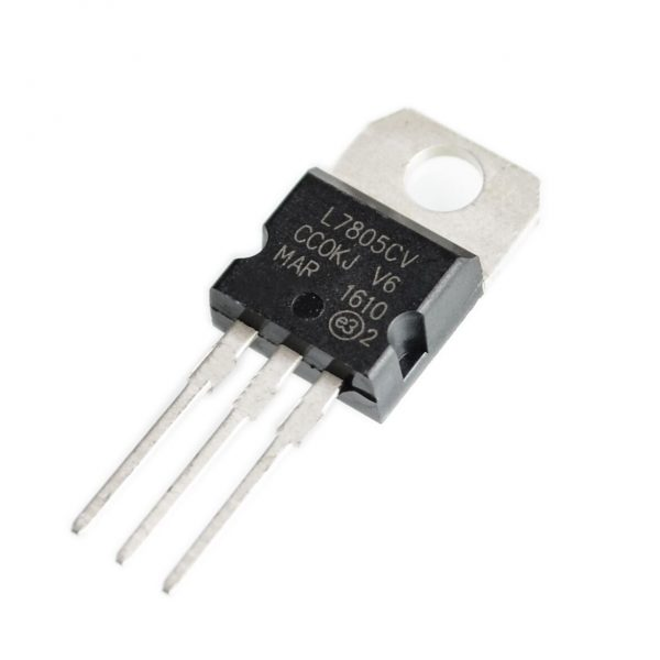 Regulador tension L7805CV LM7805 7805 5V 1.5A - TO-220