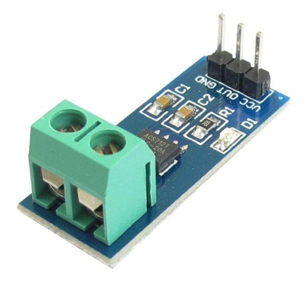 Sensor de Corriente ACS712 AC/DC 20A Arduino Hall