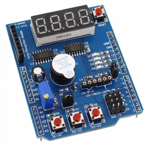 Shield Multifuncion Modulo Expansion compatible Arduino UNO - MEGA - Leonardo