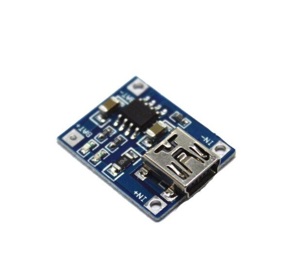 TP4056 1A Modulo cargador de baterias lipo 3.7V via MiniUSB